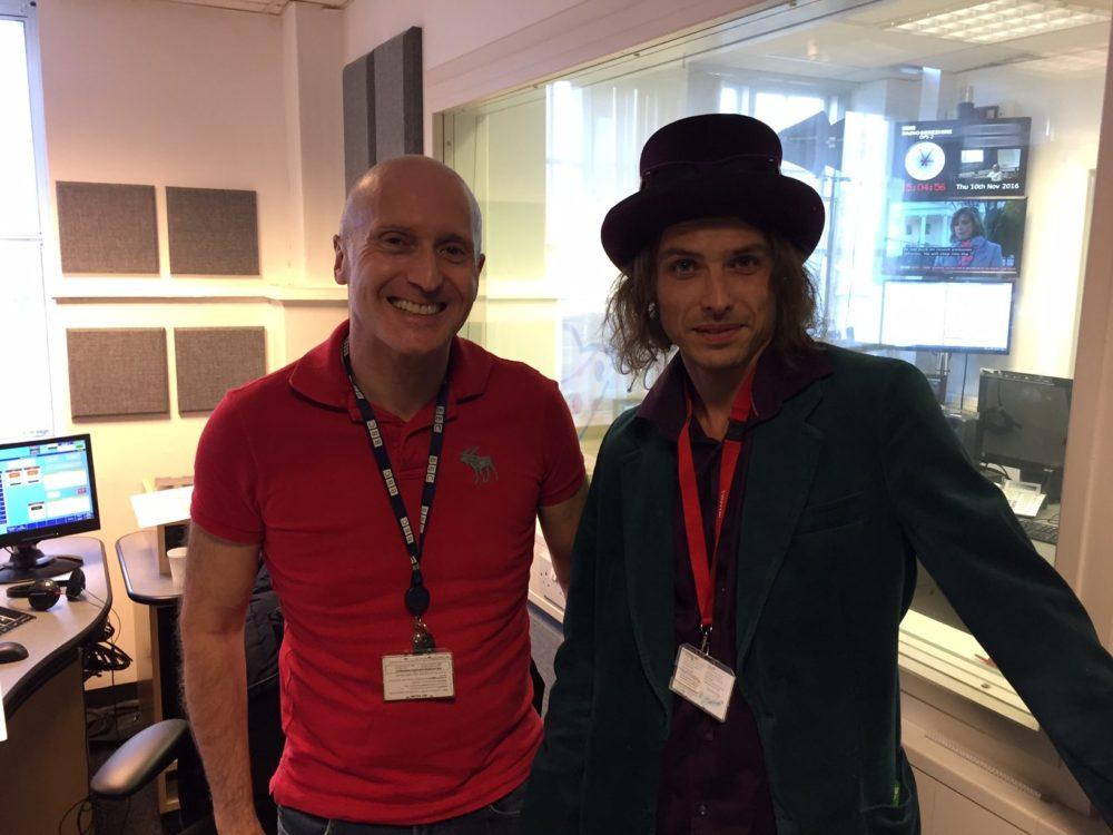 Edward Chilvers on BBC Radio Berkshire, Thursday 10th November